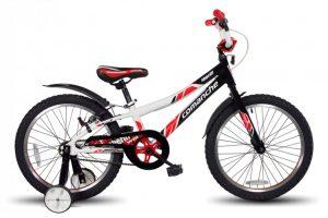 Велосипед Comanche SHERIFF W20 Черный-красный-белый