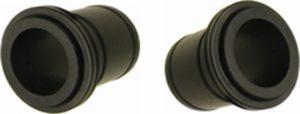 Чашки боковые (переходники) Novatec TYPE-9-BLK
