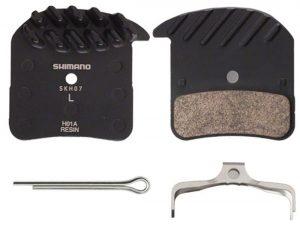 Тормозные колодки Shimano H01A+радиатор для SAINT BR-M820 ПОЛИМЕР