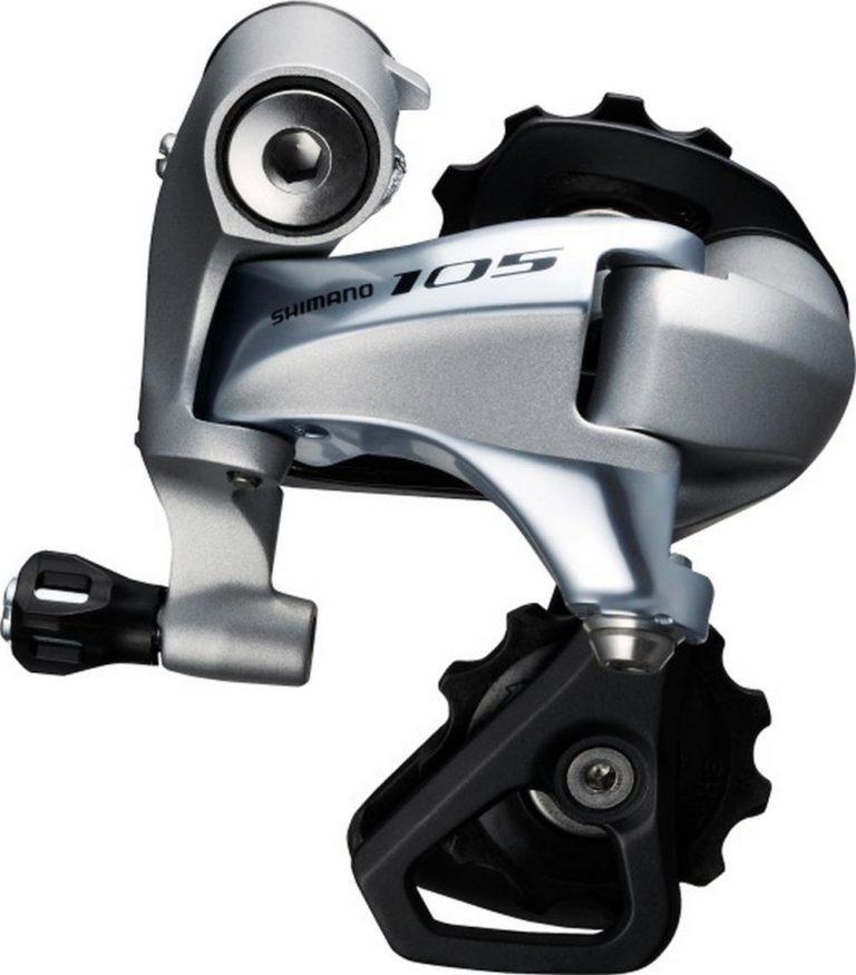 Перемикач задній Shimano 105 RD-5800SSS 11 швидкостей короткий важіль сріблястий