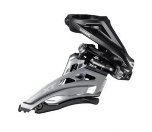 Перемикач передній Shimano Deore XT FD-M8000-H 3x11 High Clamp Side-Swing передня тяга
