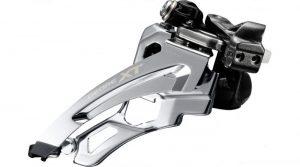 Перемикач передній Shimano Deore XT FD-M8000-L 3x11 Low Clamp Side-Swing передня тяга 34,9/31,8мм
