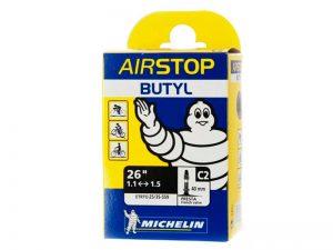 "Камера Michelin C2 AIRSTOP, 26"", 1-1,25 (25/35X559)Presta 40mm"