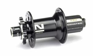 Втулка задняя Novatec XD642SB/A-ABG-B12-12х148, 28, черный Boost