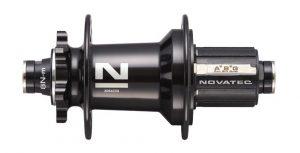 Втулка задняя Novatec XD642SB/A-ABG-12х142, 32, черный